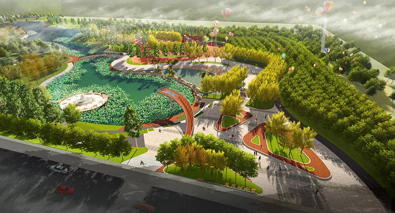 桓仁莲花湖公园景观设计
